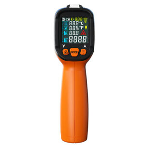Lcd Digital Ir Thermometer Type K Thermocouple High Temperature 50 800 c