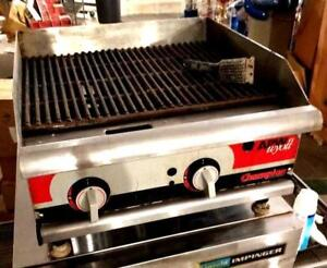 24 Apw Wyott Champion Cook Series Gas Grill Griddle