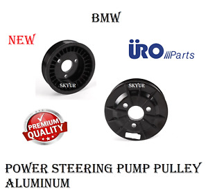 Bmw E82 E88 E90 E92 E93 135i 335i Aluminum P s Power Steering Pump Pulley Uro