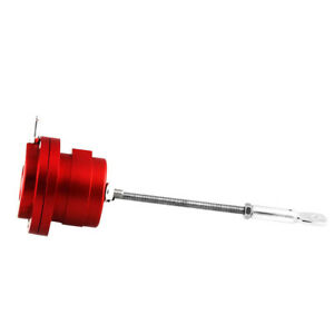 New Turbo Adjustable Wastegate Actuator Red