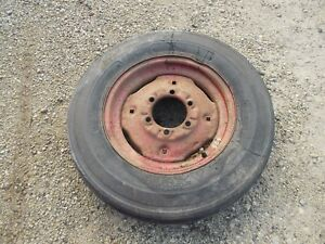 Farmall 504 460 560 656 Tractor Ih Ihc Rim Good 6 00x 16 3 Rib Harvest K Tire