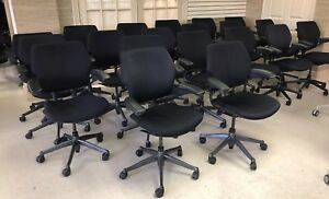 Humanscale Freedom Office Task Chair Black Fabric