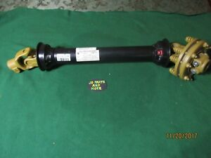 New Weasler Pto Shaft With Friction Clutch 14106436 1 3 8 X 6 36 Inches Long