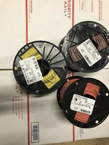 Thhn thwn 500 Feet 12 Awg Stranded Copper Wire Brown Orange Yellow New