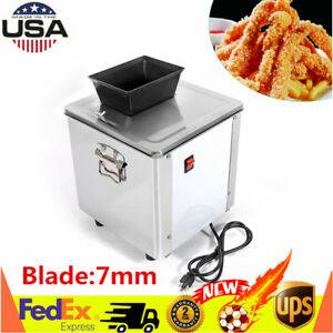 110v Commercial Electric Meat Cutter Slicer Slicing Shredding Cutting Machine