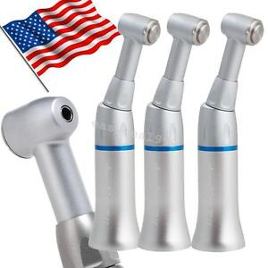 3pcs Us Dental Low Speed Handpiece Push Contra Angle E type Cartridge Fit Nsk Ce