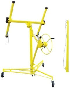 Red Line Drywall Panel Hoist Lift Tool Free Assembly Casters Extension Included