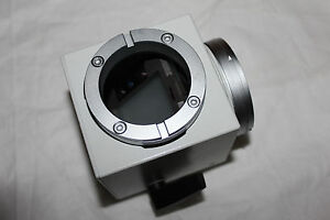 Leitz Wetzlar Microscope Adapter Attachemnt Prism Block Mikroskop