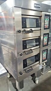 Doyon 1t 3 Triple Deck Artisan Stone Electric Pizza Oven