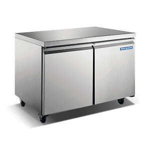 Norpole 2 Door Under Counter Freezer Np2f 48uc