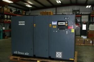 Atlas Copco Zr250 300 hp Oil Free Air Compressor