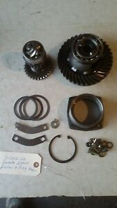Kubota B6000 4x4 Tractor Ring Gear And Pinion Assembly