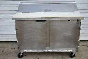 Beverage Air Sp48 48 Refrigerated Prep Table