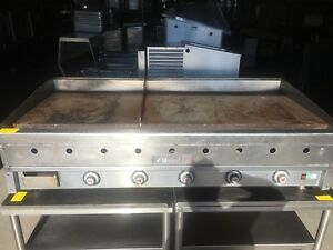 Vulcan Thermostat 60 Gas Griddle