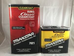 Transtar 7021 Euro Classic Clear Coat With 7096 Can T Ship To California