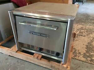 Bakers Pride Mo2t Countertop Electric Pizza Pretzel Oven Working 2 Deck Stone