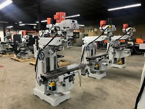 Kaast Dmv 10 x50 Knee Milling Machine Dro Power Variable Sp New W Warranty