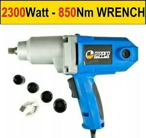 Heavy Duty 2300watt Electric Impact Wrench 1 2 Drive 4 Sockets 800nm Torque