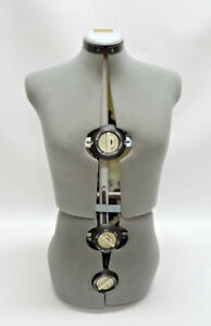 Gex 13 Dials Adjustable Dress Form No Stand Euc