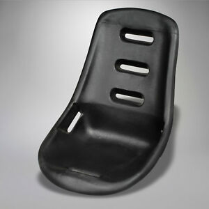 Empi Low Back Seat Shell Black Poly Vw Volkswagen Off Road Street Dune Buggy