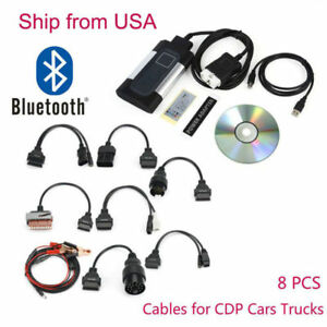 Bluetooth Tcs Cdp Pro Plus Autocom Car Truck Auto Obd2 Diagnostic Tool Us