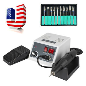 Dental Micromotor Motor Polishing Polisher Unit Handpiece Fit Marathon 10 Burs