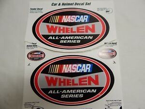 Lot Of 2 Nascar Whelen All American Series Race Decal Stickers Contingency