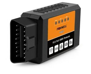 Foxwell Fw601 Universal Obd2 Wifi Elm327 V 1 5 Scanner For Iphone Ios Auto Obdii
