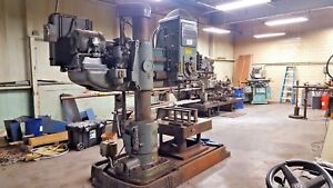 Cincinnati Bickford 3 X 9 Radial Arm Drill Model 3 519