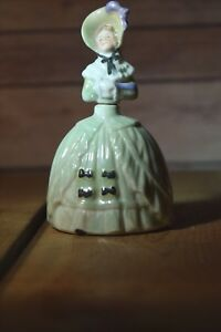 Antique Scent Bottle Lady Perfume Germany Glass Dauber 41 2 Inches