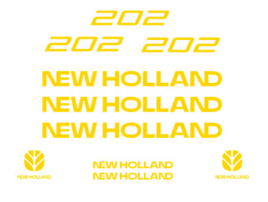 New Holland 202 Manure Spreader Decal Kit Sticker Set