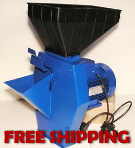Forage Cutter Fodder Chopper For Root Plants Corn Grain Cereal Feed Mill Grinder