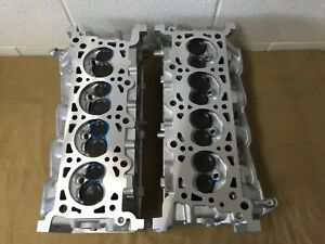 2001 2004 Ford F150 Expedition 4 6 Cylinder Heads Pair Cast il2e 6090