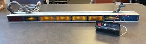 Whelen Ta837a 8x500 Light Array W Traffic Advisor Control Head p n 01 0682344 00