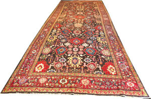 A Must See Antique 6 8 X 18 Caucasian Karabagh Rug Gallery Size Runner