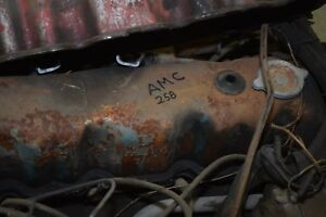 Amc 4 2l 258 Cubic Inch Straight Six Engine Motor With Transmission