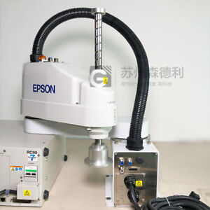 Used Epson Scara Robot 500mm Max 6kg Ls6 602s w Rc90 Controller