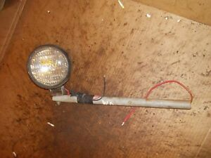 Allis Chalmers Wd Wd45 45 Tractor Front Light W Mounting Mount Post Bracket