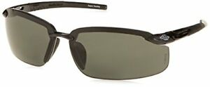 Crossfire Bifocal Safety Glasses With 2 0 Polarized Smoke Lens Black Frame