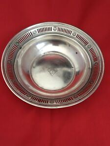 Towle Sterling Silver Vintage Antique Candy Dish Bowl 343