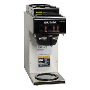 Bunn Vp17 3 Pourover Coffee Brewer W 3 Warmers