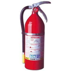 Kidde 468001 Pro Plus 5 Fire Extinguisher Ul Rated 3 a 40bc Red
