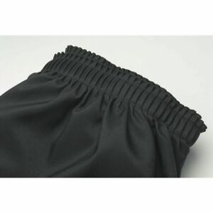 Table Skirting Shirred Black Polyester 29 H X 17 1 2 l