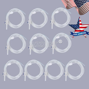 Usps 10x Dental Disposable Oral Irrigation Tube Surgic Fit Nsk Implant Handpiece