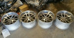 Rare Jdm 18 Inch Weds Kranze Lxz Wheels 5x114 3 Used 18x10 5 10 18x11 5 5