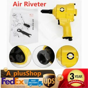 Air Riveter Pneumatic Riveting Gun Tool Pneumatic Pistol Type Pop Rivet Gun Usa