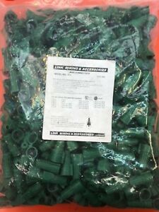 Wire Nut Green Double Winged Twist Nut Wire Connectors Grounding Ground 4pack