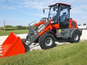 New Wrangler Wheel Loader Compact Articulating Skid Steer Attachments Kohler