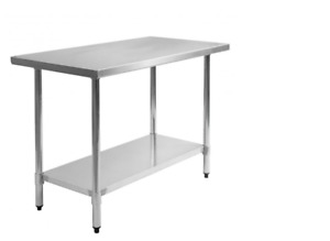 New Stainless Steel Commercial Kitchen Work Food Prep Table 30 X 48