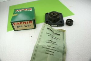 New Fafnir Rcj 1 2 Flange 4 Bolt Mount Pillow Block Bearing With Collar
